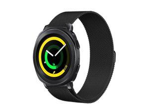 Balerion-Mesh Watch Band For Samsung Gear Sport with Magnetic Lock,Magnetic Closure Clasp