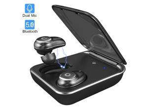 Bluetooth 5.0 Wireless Earbuds GUSGU iPX7 Waterproof Earbuds Running Headphones Wireless Bluetooth Earphones with Charging Case for Sport/Running/Gym (Auto Pairing,Buit-in Dual Mic,60 Hours Playtime)