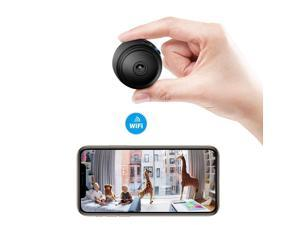 Veroyi Mini Hidden Camera Full HD 1080P WiFi Wireless Remote Security Camera Nanny Cam Home Surveillance Camera