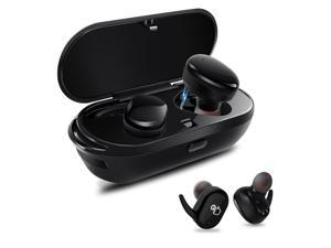 Wireless Earbuds,Dveda Bluetooth 5.0 3D Stereo Sound True Wireless Headphones with Charging Box Built-in Mic and Noise Cancelling Stereo for iPhone and Android