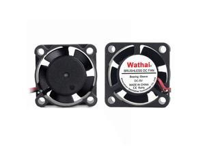 Wathai 80mm x 10mm 5V 2Pin DC Brushless Cooling Fan