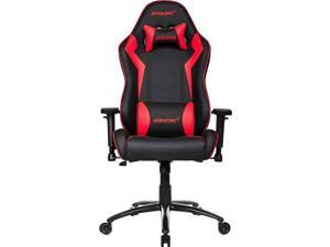 AKRacing Core Series SX PU Leather Gaming Chair, 3D Adjustable Arms, 180 Degrees Recline - Red (AK-SX-RD)