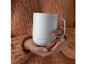 Ember - 10-Oz. Temperature Control Ceramic Mug - White