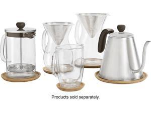 Caribou Coffee - 8-Cup Coffee Maker - Clear