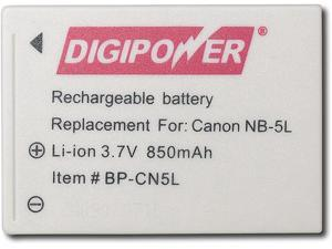Rechargeable Lithium-Ion Battery for Canon PowerShot SD700IS