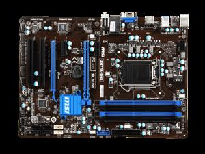 MSI ZH77A-G41 Motherboard LGA 1155 Intel H77 Chipset DDR3 ATX