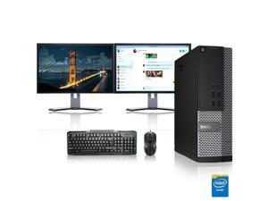 "Dell Optiplex Desktop Computer 3.0 GHz Core 2 Duo Tower PC, 6GB, 250GB HDD, Windows 10 x64, 17"" Dual Monitor , Radeon 128MB DDR2, USB Mouse & Keyboard"