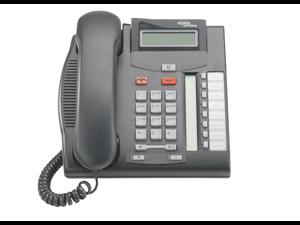 Nortel Norstar T7208 Telephone  Charcoal  NT8B26 NortelNetworks
