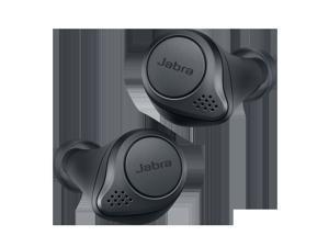 Jabra Elite Active 75t True Wireless Earbuds with Wireless Charging Case - Grey