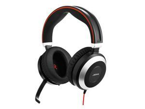 Jabra Evolve 80 UC Stereo USB-C Wired Headset / Music Headphones
