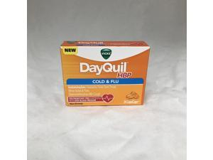 Vicks DayQuil HBP Cold & Flu LiquiCaps, 24ct