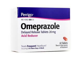Perrigo Omeprazole Delayed Release Tablets, 20mg, 42ct
