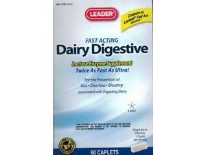 Leader Dairy Digestive Caplets, 60ct