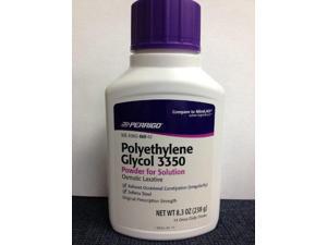 Perrigo Polyethylene Glycol 3350 Powder, 8.3oz
