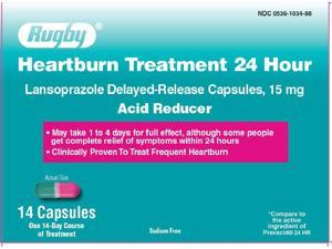 Major Heartburn Treatment 24hr Capsules, 14ct