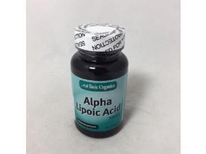 Basic Organics Alpha Lipoic Acid 200mg, Capsules, 60ct