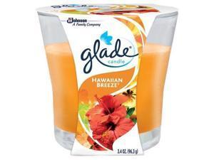 Glade Candle, Hawaiian Breeze, 3.4oz 046500769566F296