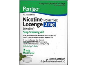 Perrigo Nicotine 2mg Lozenges, Mint Flavor, 72ct 345802344052S2835