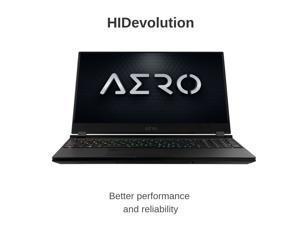 "HIDevolution Gigabyte AERO 15 OLED XA-7US5130SP 15.6"" UHD AMOLED   2.6GHz i7-9750H, RTX 2070 Max-Q, 16GB 2666MHz RAM, PCIe 512GB SSD   Authorized Performance Upgrades & Warranty"