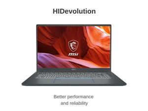 "HIDevolution MSI Prestige 15 A10SC 15.6"" FHD IPS-Level | 1.1 GHz i7-10710U, GTX 1650 Max-Q, 16GB 2666MHz RAM, 512GB PCIe SSD | Authorized Performance Upgrades & Warranty"