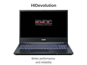 "HIDevolution EVOC High Performance Systems NH58RHQ 15.6"" FHD 