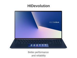 "HIDevolution ASUS Zenbook 15 Ultra Slim UX534FTC 15.6"" FHD | Royal Blue | 1.8 GHz i7-10510U, GTX 1650 Max-Q, 16GB 2133MHz RAM, 1TB PCIe SSD | Authorized Performance Upgrades & Warranty"