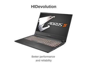 "HIDevolution AORUS 5 SB-7US1130SH 15.6"" FHD 144Hz | 2.6 GHz i7-10750H, GTX 1660 Ti, 16 GB 2666MHz RAM, 8 TB PCIe SSD | Authorized Performance Upgrades & Warranty"