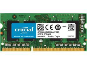 Crucial 8GB Single DDR3/DDR3L 1866 MT/s (PC3-14900) 204-Pin SODIMM RAM Upgrade for iMac (Retina 5K, 27-inch, Late 2015) - CT8G3S186DM