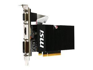 MSI Computer GeForce GT 710 1GB DirectX 12 PCIe x16 2.0 Low Profile Graphic Card (GT 710 1GD3H LPV1)