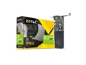 ZOTAC GeForce GT 1030 2GB GDDR5 64-bit PCIe 3.0 DirectX 12 HDCP Ready Low Profile Video Card ZT-P10300A-10L