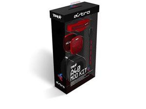 ASTRO Gaming A40 TR Mod Kit, Noise Cancelling Conversion Kit - Red - Red Edition