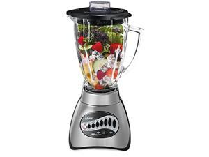 Oster BLST6812-P33R 16 Speed Blender, 700 W, One Size, Brushed Nickel