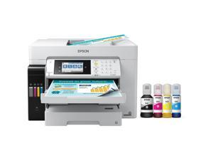 Epson C11CH71201 EcoTank ET-16650 Wide-format All-in-One Supertank Printer - Inkjet - 4800 x 1200 dpi - 4 x Built-In Tanks - 66,000 Pages - 99 Copies - ESC/P-R - Wi-Fi