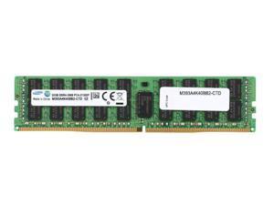 Samsung 32GB 288-Pin DDR4 2666 (PC4 21300) RDIMM 1.2V Server Memory Model M393A4K40BB2-CTD