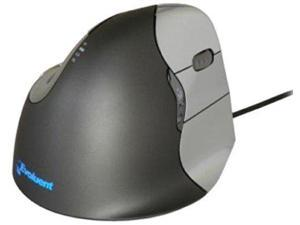 Evoluent VM4R VerticalMouse 4 Right Handed - The Patented Shape Supports Your Hand