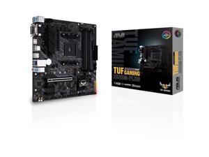 ASUS TUF GAMING A520M-PLUS - Motherboard - micro ATX - Socket AM4 - AMD A520 - USB 3.2 Gen 1, USB 3.2 Gen 2 - Gigabit LA