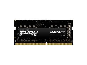 Kingston Fury Impact 8GB 260-Pin DDR4 SO-DIMM DDR4 2666 (PC4 21300) Laptop Memory Model KF426S15IB/8