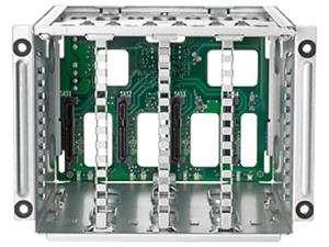 HPE 4 LFF Drive Backplane Cage Kit - Storage drive cage - for ProLiant ML110 Gen10, ML110 Gen10 Entry, ML110 Gen10 Performance, ML110 Gen10 Solution
