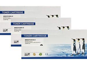 Search4Toner Compatible Replacement for HP CF230X, 30X, With Chip, 3PK, M227, M203, Lower Cost Alternative to HP Brand, Overall Defect Rates Less Than 1%, 100% Satisfaction Guaranteed