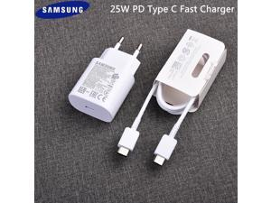 Samsung S20 Super Fast Charger 25W Quick Charge Adapter Type-C to Type-C Cable For Galaxy S20 Plus Note 10 Plus/10 Lite (1pcs) AABBCCDDFF