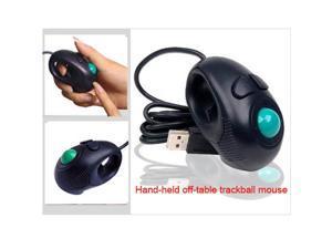 Neu Finger HandHeld 4D USB Mini Portable Trackball Mouse PC Laptop Computer