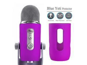 Silica gel protector provides for Blue Yeti microphone cover Soft silicone cover protect for Blue Yeti pro mic windscreen part