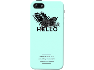DailyObjects Hello Wonderful Blue Case For iPhone 5/5S
