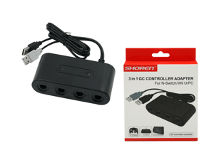 4-Port GC Controller Adapter For N-Switch/Wii U/PC