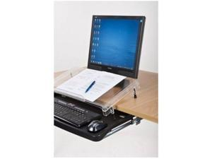 MICRODESK  - WHEN YOU ARE STRECTCHING & TWISTING AT YOUR DESK YOU CAN STRAIN YOU