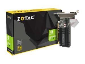 ZOTAC GeForce GT 710 DirectX 12 ZT-71301-20L 1GB 64-Bit DDR3 PCI Express 2.0 x8