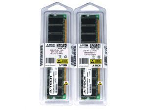 2GB Kit Lot 2x 1GB DDR Desktop PC2700 2700 333 333mhz 184-pin Memory Ram