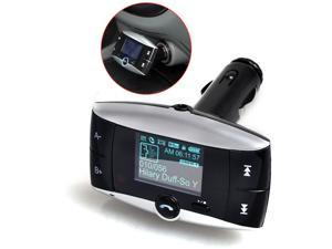 "Car Kit 1.5"" LCD Bluetooth MP3 Player SD MMC USB Remote FM Transmitter Modulator"