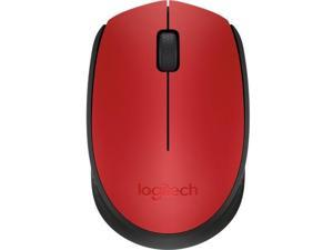 Logitech M170 910-004941 Red 1 x Wheel USB RF Wireless Optical Mouse