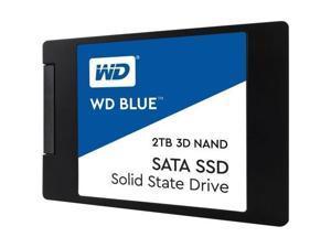 WD Blue 3D NAND SATA SSD WDS200T2B0A - Solid state drive - 2 TB - internal - 2.5-inch - SATA 6Gb/s